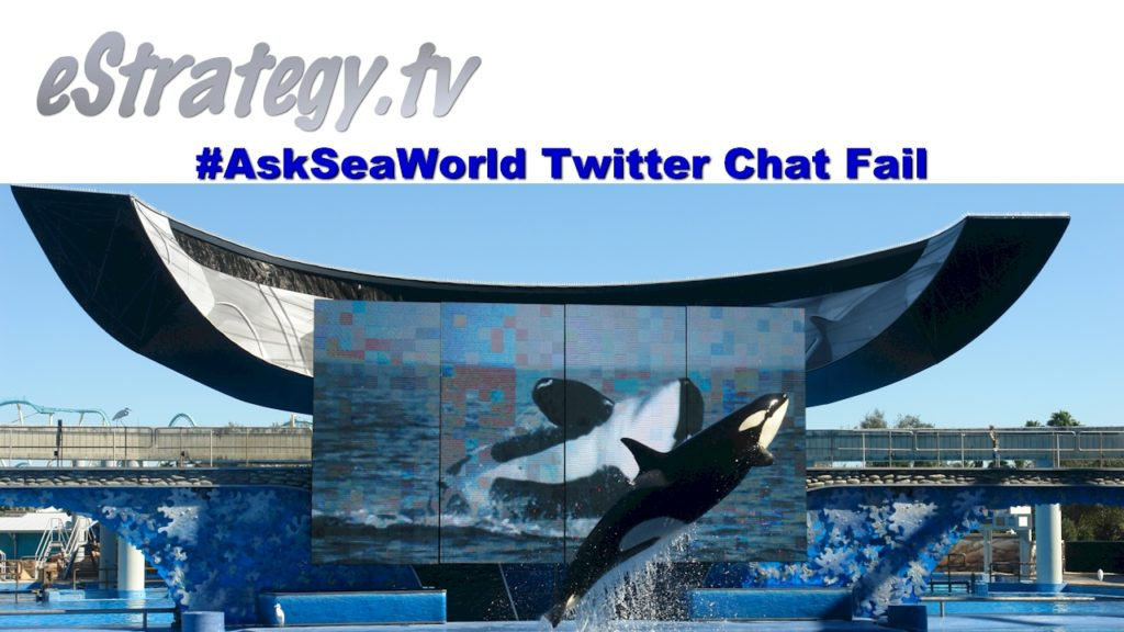 Ask SeaWorld Twitter Chat Fail