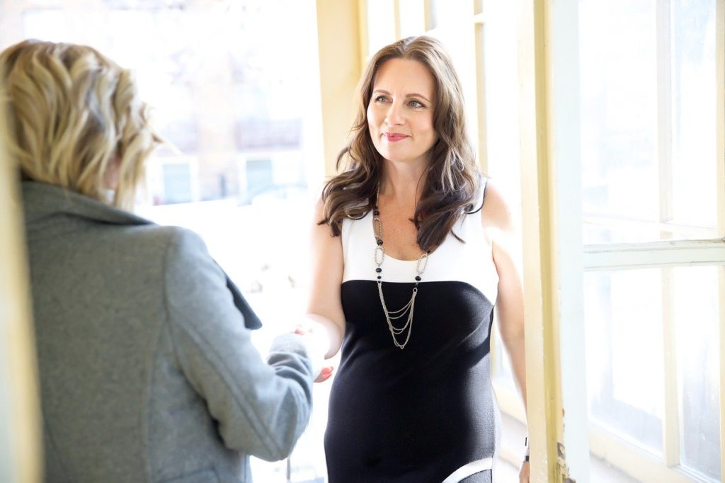 Businesswoman Networking