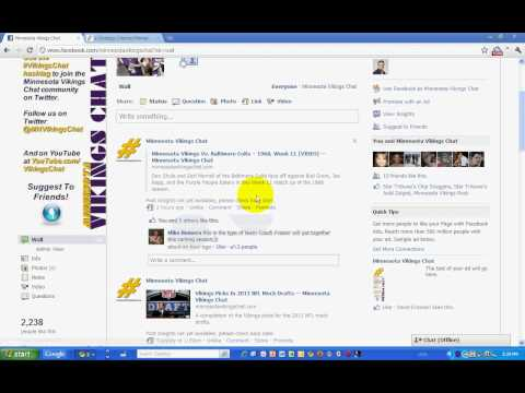 New Facebook Page Updates