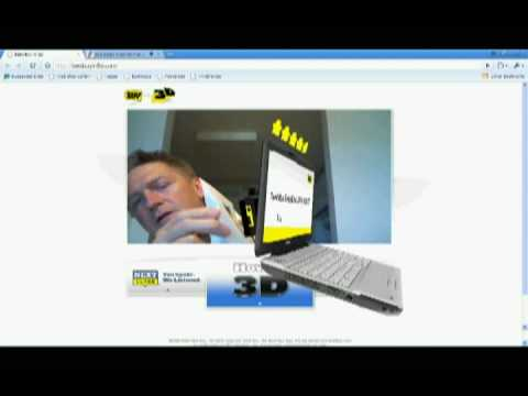 Screenshot: Best Buy Augmented Reality Ad (3D) Demonstration
