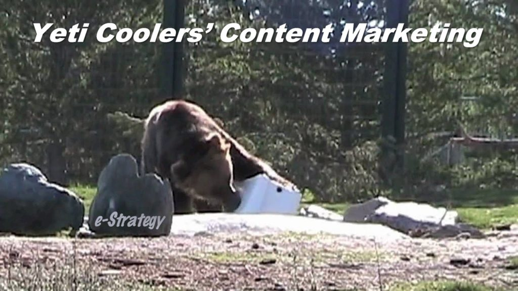 Yeti Coolers Content Marketing