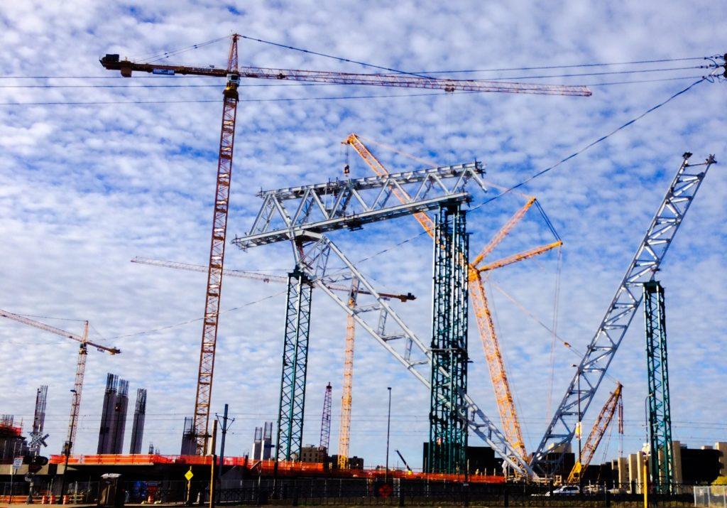 Vikings Stadium Under Construction