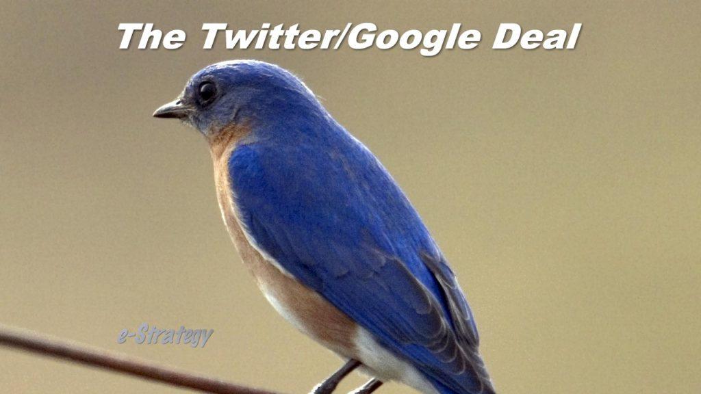 Twitter/Google Deal