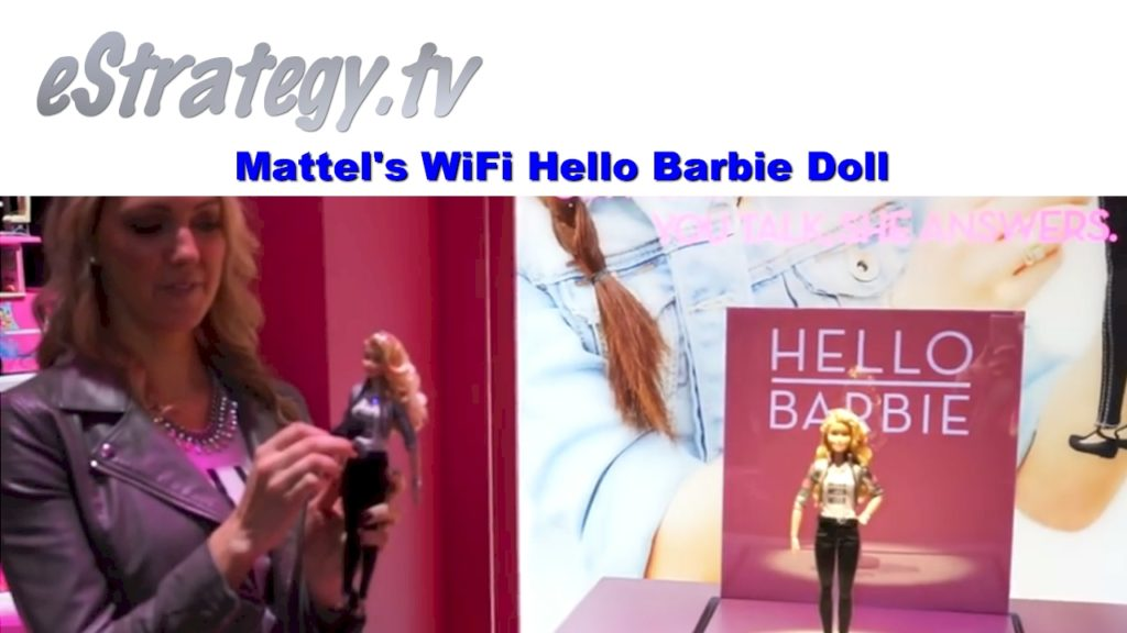 Mattel's Wifi Hello Barbie Doll