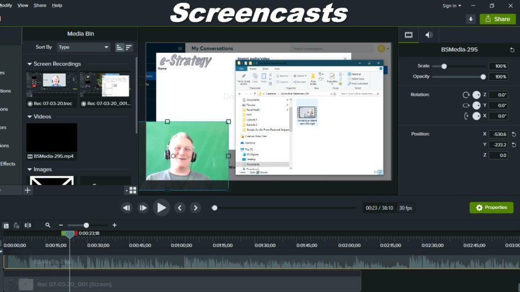 Screencasts