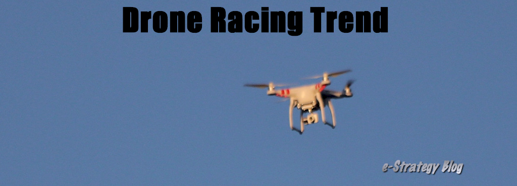 Drone Racing Trend