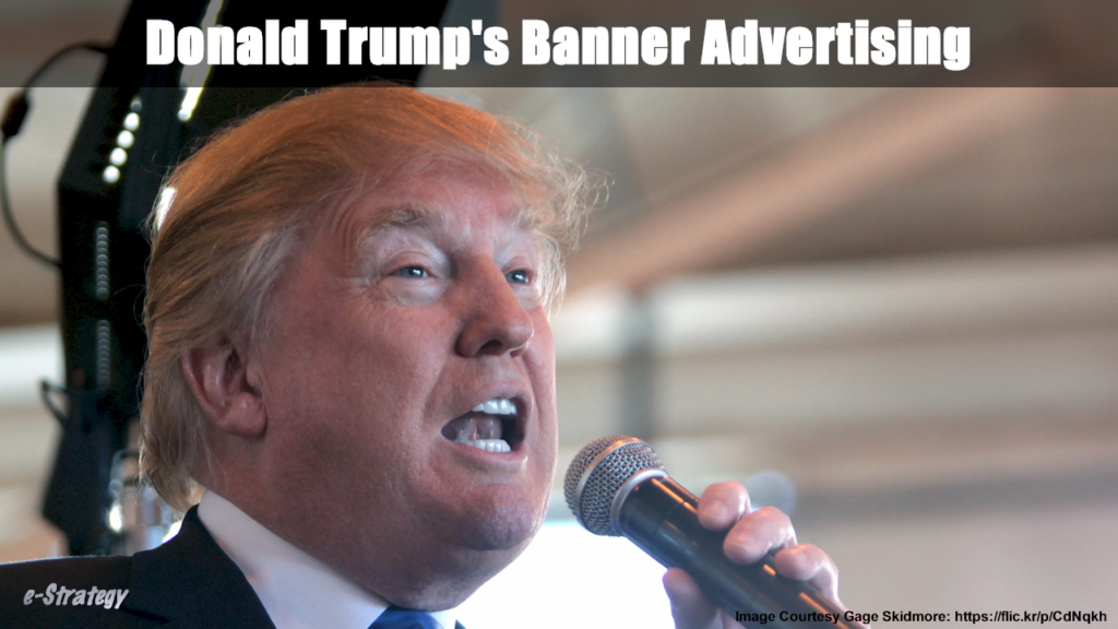 Donald Trump's Banner Advertising