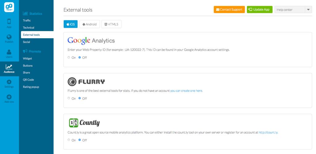 GoodBarber - Analytics