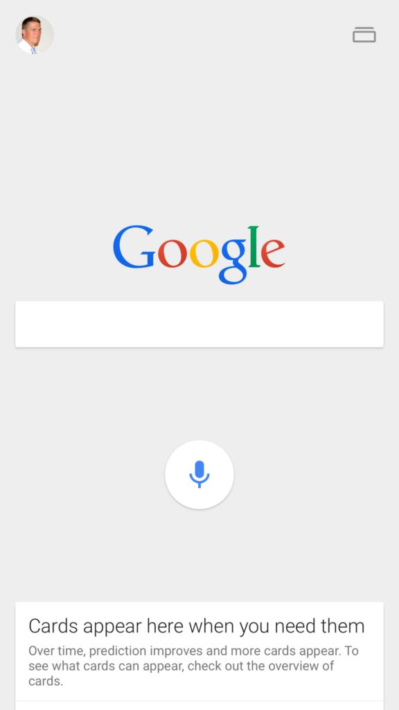Screenshot: Tweets In Search - Google Mobile App