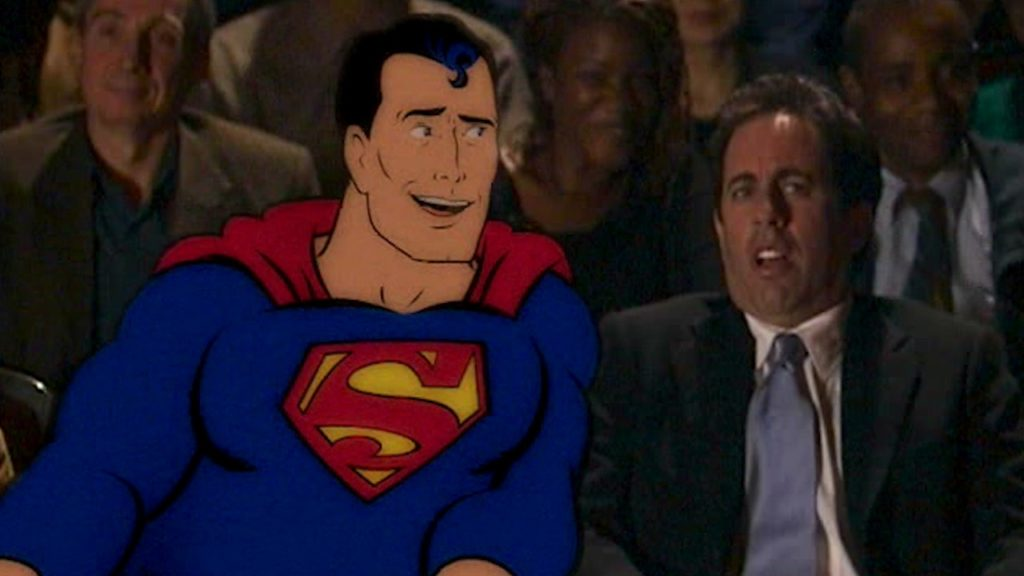 Superman & Jerry Seinfeld American Express Commercial