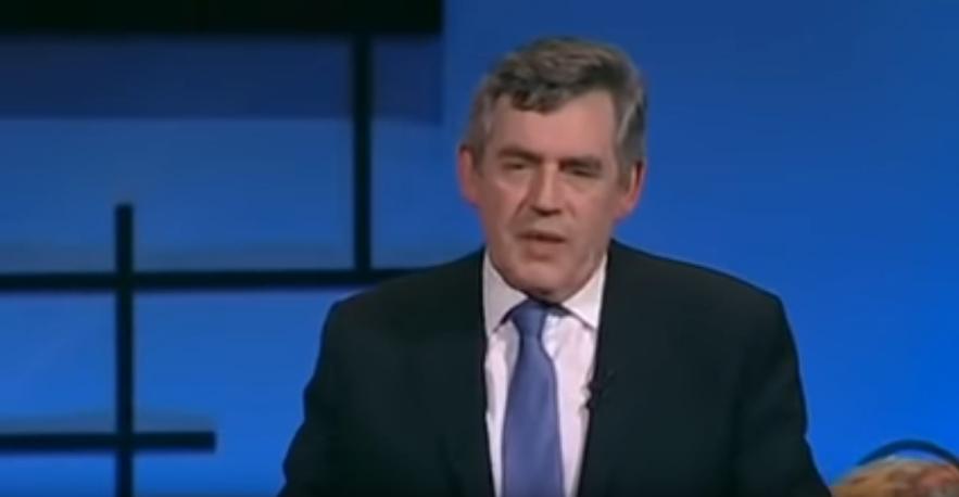Photo: Gordon Brown