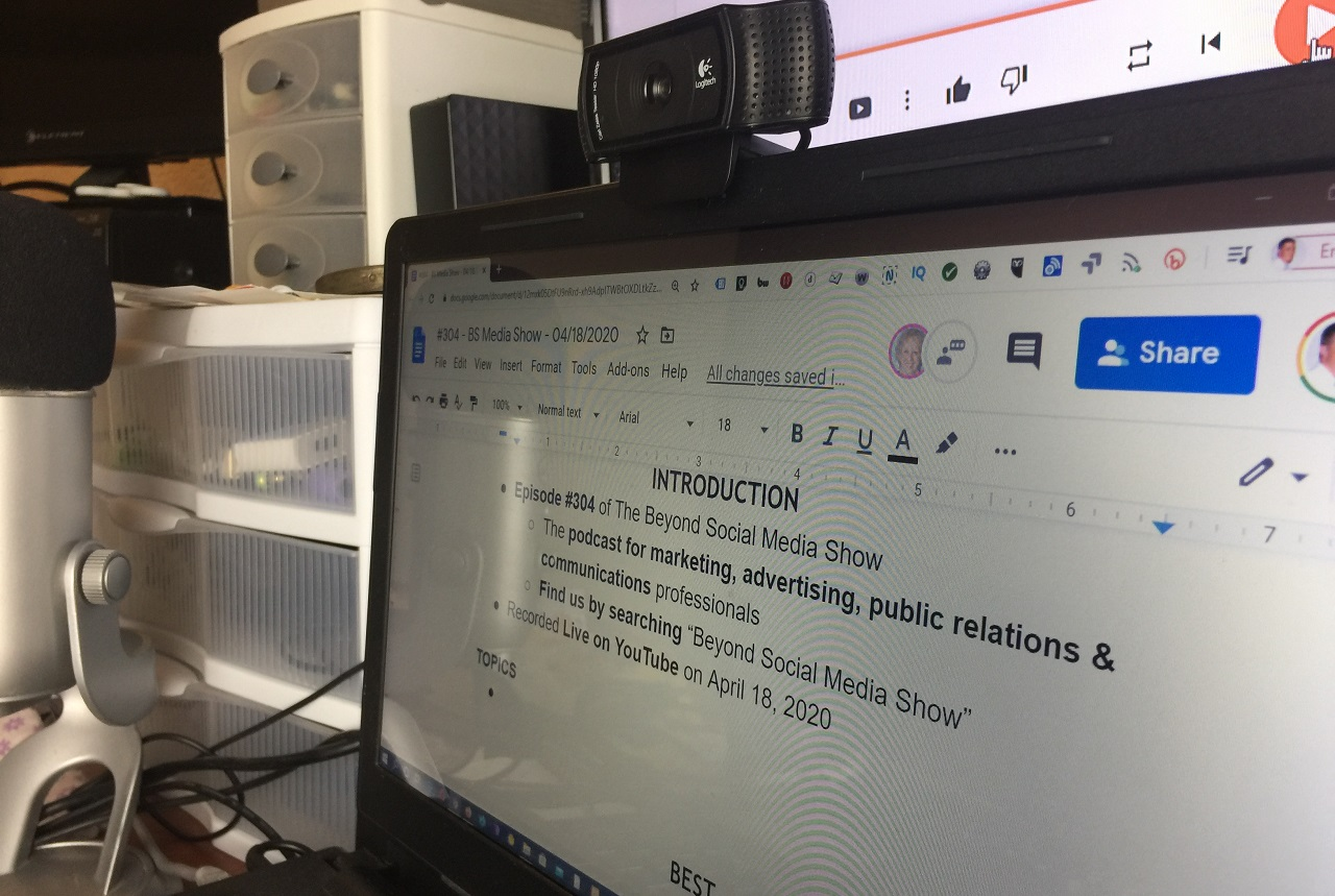 Webcam Notes