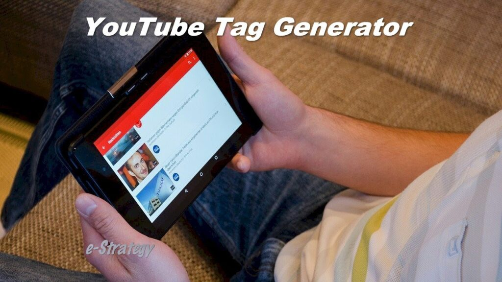 YouTube Tag Generator