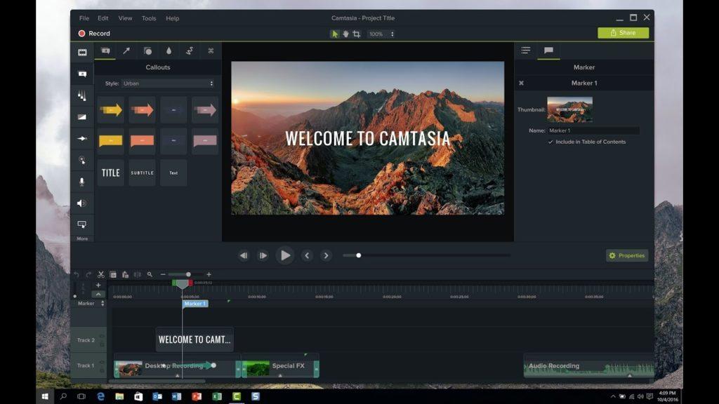 Cmatasia Studio Screencasting